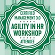 Agility in HR-Workshop Zertifikat